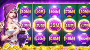 Measuring Luck in Playing Online Slots